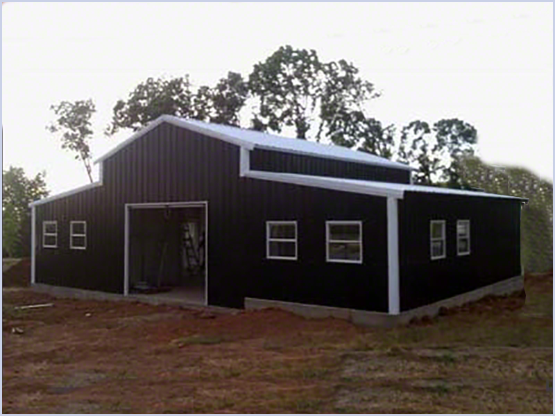 Combination Buildings And Carports