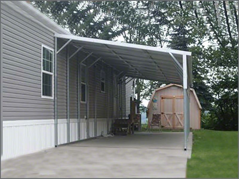 Combination buildings and carports for Carport shed combo
