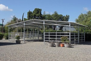 Steel Frame Buildings Protect your Animals from the Elements