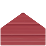Color Selection Image of a Metal Building Siding Piece Barn Red in Color