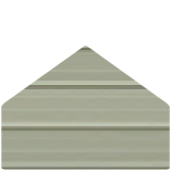 Color Selection Image of a Metal Building Siding Piece Clay in Color
