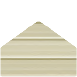 Color Selection Image of a Metal Building Siding Piece Pebble Beige  in Color