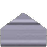 Color Selection Image of a Metal Building Siding Piece Quaker Grey in Color