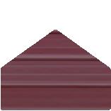 Color Selection Image of a Metal Building Siding Piece Vintage Burgundy in Color