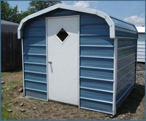 Metal Shed Backyard Storage Carport